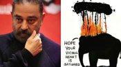 जलते टायर से हाथी की दर्दनाक मौत, कमल हासन का फूटा गुस्सा, जानिए क्या कहा उन्होंने