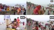 Makar Sankranti 2021: मकर संक्रांति आज, श्रद्धालुओं ने लगाई गंगा में आस्था की डुबकी