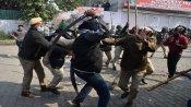 सिंघु बॉर्डर पर जबरदस्त बवाल, हमले में अलीपुर के SHO घायल
