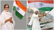 अमिताभ बच्चन ने तिरंगे को किया सलाम, 72वें गणतंत्र दिवस पर इन बॉलीवुड स्टार्स ने दी बधाई