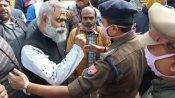 रायबरेली: आप MLA सोमनाथ भारती के चेहरे पर फेंकी गई स्याही, विवादित बयान पर हुए गिरफ्तार