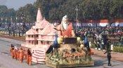 गणतंत्र दिवस पर दिखाई गई राम मंदिर मॉडल की झांकी ने मारी बाजी, मिला पहला स्थान