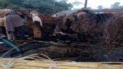 गयाः देर रात घर में आग लगने से पति-पत्नी और मां की मौत, जांच में जुटी पुलिस