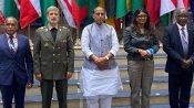 IOR रक्षा मंत्रियों के सम्मेलन में बोले राजनाथ सिंह- 'मित्र देशों को हथियारों की सप्लाई के लिए भारत तैयार'