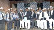 यूपी पंचायत चुनाव: अयोध्या में 25 से ज्यादा सपा नेताओं ने थामा आम आदमी पार्टी का हाथ