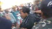 सीएम शिवराज सिंह चौहान की सभा में हंगामा, किसान ने खुद पर डाला केरोसीन