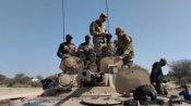 बीकानेर में US-INDIA युद्धाभ्यास : राजस्थान के रेगिस्तान में दौड़ता दिखा अमेरिकी स्ट्राइकर टैंक