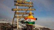 Mt Kilimanjaro की चोटी पर गोरखपुर के नीतीश ने फहराया तिरंगा, कहा- अब ऑस्ट्रेलिया की ऊंची चोटी को करूंगा फतह