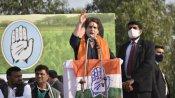 मुजफ़्फरनगर महापंचायत: प्रियंका गांधी बोलीं- हमारे प्रधानमंत्री भी अहंकारी राजा की तरह हो गए