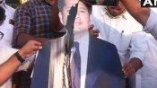 भारत रत्न से सम्मानित सचिन तेंदुलकर के कटआउट पर कांग्रेसियों ने डाली कालिख, भाजपा बोली-वे गटर-स्तर पर उतर आए