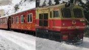 सपनो का सफर: रेल मंत्रालय ने शेयर किया बर्फ से ढंकी ट्रेन का Video, हर कोई जाना चाहेगा यहां