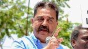 तमिलनाडु: कमल हासन के पैर पर चढ़ा शख्स, चोट के चलते रोकना पड़ा चुनाव अभियान