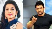जब जूही चावला से आमिर खान ने 7 सालों तक नहीं की बात, फिल्म 'इश्क' की शूटिंग पर हुआ था झगड़ा