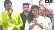 बंगाली एक्ट्रेस राजश्री और अभिनेता बोनी सेनगुप्ता BJP में शामिल, TMC एमएलए गौरीशंकर ने भी थामा भाजपा का हाथ