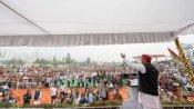 बरेली में अखिलेश यादव ने कहा- सपा सरकार बनी तो आंवला का करेंगे विकास