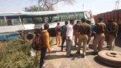 अलीगढ़: रोडवेज बसों में हुई भीषण टक्कर, चार की मौत, कई यात्री घायल