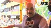 केरल चुनाव: थ्रिप्पुनिथुरा में अमित शाह का रोड शो, कांग्रेस को बताया 'कंफ्यूज' पार्टी