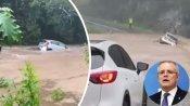 'हीरोपंती' पड़ी भारी, खिलौने की तरह बाढ़ में बही कार, Video शेयर कर ऑस्ट्रेलियाई पीएम ने दी चेतावनी