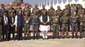 देश के टॉप सैन्य कमांडरों का गुजरात में बड़ा सम्मेलन, राजनाथ-बिपिन रावत समेत तीनों सेनाओं के चीफ आए