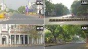 होली के मौके पर दिल्ली में पसरा सन्नाटा, सड़कें सूनी, गलियां खाली