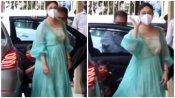 करीना दे रही थीं फोटोग्राफर को पोज लेकिन गुस्से में भागने लगे तैमूर अली खान फिर हुआ कुछ ऐसा..., देखें Video