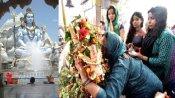 MAHASHIVRATRI 2021: गुजरात में ऐसे मनाई जा रही महाशिवरात्रि, जगह-जगह रुद्राभिषेक अनुष्ठान