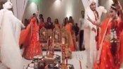 VIDEO: दूल्हा-दुल्हन ने डांस करते-करते लिए 7 फेरे, सोशल मीडिया पर छिड़ी इस बात पर बहस