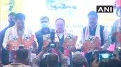असम विधानसभा चुनाव: भाजपा के राष्ट्रीय अध्यक्ष जे.पी नड्डा ने जारी किया पार्टी का घोषणा पत्र