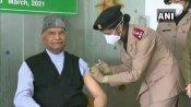 राष्ट्रपति रामनाथ कोविंद ने दिल्ली के आर आर अस्पताल में लगवाया कोरोना का टीका
