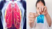 OMG! TB की शिकायत लेकर डॉक्टर के पास पहुंची 27 साल की महिला, जांच किया तो फेफड़े में मिला कंडोम