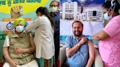 कोरोना टीकाकरण: अमरिंदर सिंह, अशोक गहलोत, जावड़ेकर, राज्यपाल कोश्यारी समेत इन नेताओं दी गई वैक्सीन