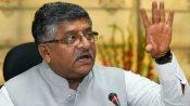सोशल मीडिया के लिए सरकार के पास नियामक नियुक्त करने का कोई प्रस्ताव नहीं: रविशंकर प्रसाद
