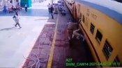 चलती ट्रेन से गिरे बुजुर्ग की पुलिसकर्मी ने बचाई जान, पीयूष गोयल ने वीडियो शेयर कर कही ये बात