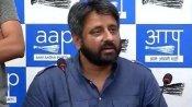 नरसिंहानंद का गला काटने की बात कहने पर AAP MLA अमानतुल्लाह के खिलाफ FIR