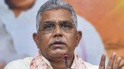 चुनाव आयोग ने पश्चिम बंगाल में बीजेपी चीफ दिलीप घोष पर लगाया 24 घंटे का बैन, दिया था ये बयान