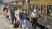 Coronavirus: फिर से लॉकडाउन की आशंका देख अपने-अपने गांव वापस लौटने लगे प्रवासी मजदूर