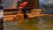 कश्मीर की बर्फीली वादियों में स्विमिंग पूल में उतरीं सारा अली खान, हॉट लुक देख फैंस हुए फिदा