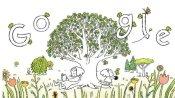 पृथ्वी दिवस पर गूगल ने बनाया लोगों को पर्यावरण के प्रति जागरूक करने वाला डूडल