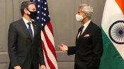 G7 सम्मेलन: अमेरिकी विदेश मंत्री से मिले एस. जयशंकर, कोरोना समेत कई अहम मसलों पर चर्चा