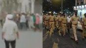 VIDEO: महाराष्ट्र में इकट्ठा हुई भीड़ पर कार्रवाई करने गई पुलिस टीम पर हमला