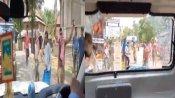Video: बंगाल में नहीं रूक रही राजनीतिक हिंसा, अब विदेश राज्यमंत्री के काफिले पर हमला