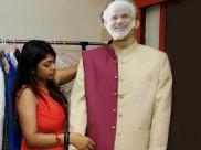 शपथ समारोह के दौरान नरेंद्र मोदी को देखें कुछ इस अंदाज में