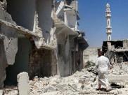 जेहादियों ने इराकी श्हरों पर कब्जा करने के बाद नष्ट किए मस्जिद और प्राचीन स्थल