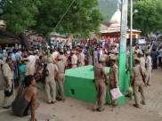 मिर्जापुर: पुलिस की पिटाई से क्षुब्ध आरएसएस कार्यकर्ता ने फांसी लगाई, हंगामा