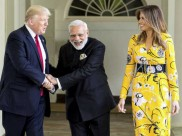 विदेश मंत्री सुषमा स्वराज से मिले अमेरिकी राष्ट्रपति डोनाल्ड ट्रंप, पीएम मोदी को बताया अच्छा दोस्त और बोले भारत से करता हूं प्यार
