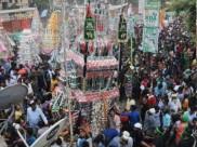 उत्तर प्रदेश: मोहर्रम मनाने के दौरान हुए हादसों में 5 लोगों की मौत, 68 झुलसे