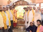 हिमाचल में मुस्लिम समुदाय ने मंदिर में मत्था टेक निकाला मुहर्रम का जुलूस