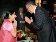UNGA में लंच टेबल पर होगा सुषमा स्वराज और पाकिस्तान के विदेश मंत्री कुरैशी का हैंडशेक!