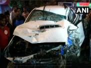 दिल्ली: SUV ने कई गाड़ियों को मारी टक्कर, 1 की मौत, 8 घायल