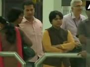 सबरीमाला: कोच्चि पहुंचीं तृप्ति देसाई को एयरपोर्ट पर रोका, प्रदर्शनकारियों ने कहा-लाश पर से गुजरना होगा